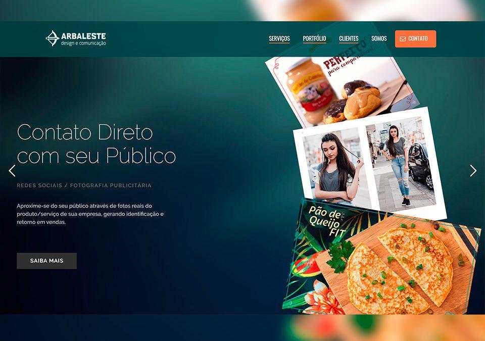 Arbaleste design e Comunicação Portfólio Guarda Site