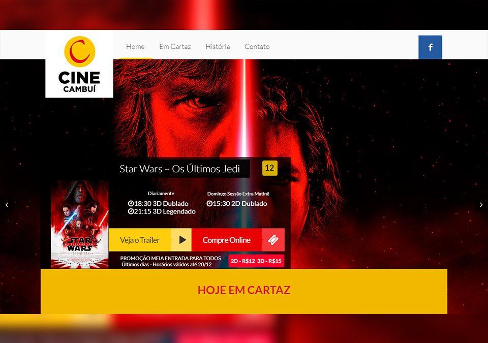 Cine Cambuí Portfólio Guarda Site