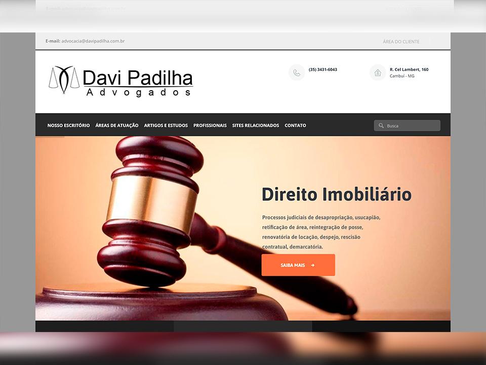 Davi Padilha Advogados Portfólio Guarda Site