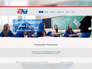 Escola Profª Ana Bueno Portfólio Guarda Site