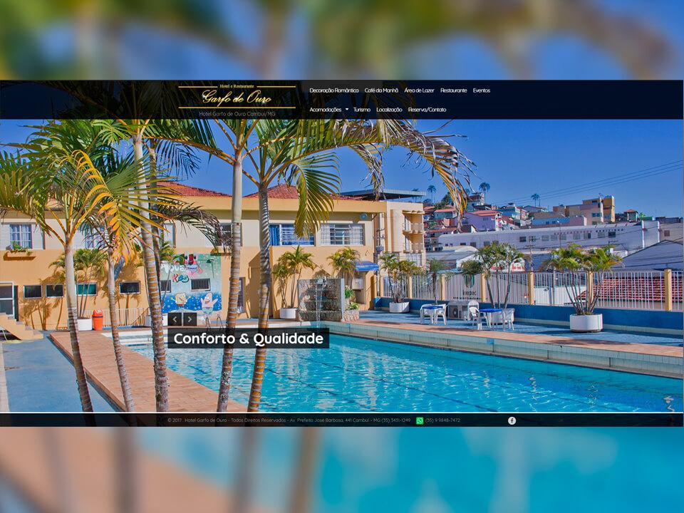 Hotel Garfo de Ouro Portfólio Guarda Site
