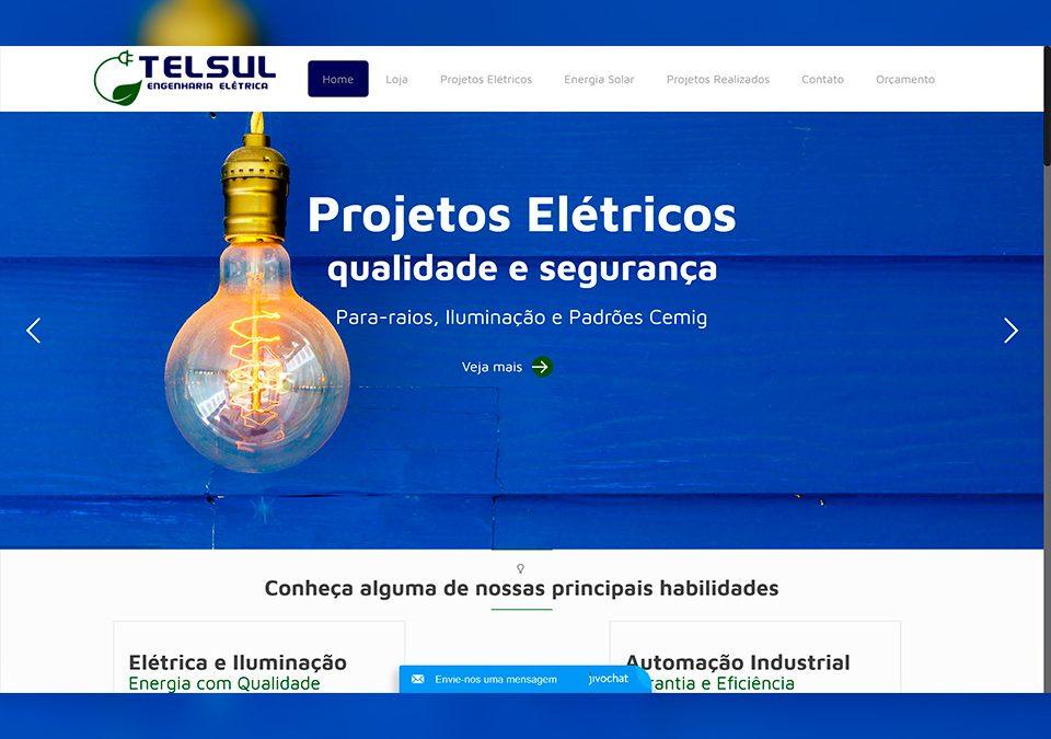 Telsul Engenharia Elétrica Portfólio Guarda Site